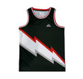 Mesh Bolt Jersey | Black/Red