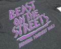 Beast on the Street T-Shirt   Grey