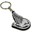 Turbo Wing Keychain | Black/White