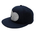 Turbo Wing Fitted Hat | Navy Blue