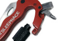 Multi Functional Tool Carabiner | Red