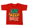 Kids Gummy Bubble T-Shirt | Red