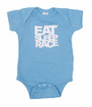 Infant One Piece Logo | Powder Blue