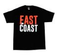 East Coast Fast Coast Bold T-Shirt | Black/Red