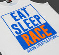 ESR Outline Tank Top | White/Blue