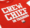 Kids Crew Chief T-Shirt | Red