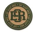 Rubber Velcro Circle ESR Patch | Olive/Khaki