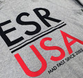Zip Up Hoodie ESR USA   Grey