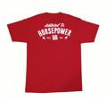 Horsepower Addict Pocket T-Shirt | Red