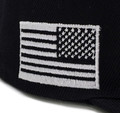 ESRUSA Snapback Hat | Black/White