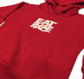 Kids Logo Pull Over Hoodie | Red/White