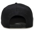 Circle Flag Snapback Hat | Black/RWB