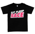 Kids Cartoon T-Shirt | Black/Pink