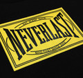 Neverlast T-Shirt | Black/Yellow