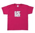 Kids Logo T-Shirt | Berry/White