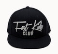 Kids Fast Kids Club Snapback Hat | Black