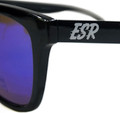 ESR Fastlife Sunglasses | Black/Blue Iridium (Polarized) | Hard Case