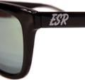 ESR Fastlife Sunglasses   Black/Yellow Iridium (Polarized)   Hard Case