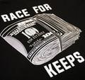 Race For Keeps Pocket T-Shirt | Black