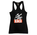 Ladies Brush Tank Top | Black
