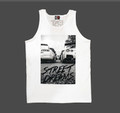 Street Dreams by Zuumy Tank Top | White