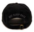 Bolt Sport Strapback Hat | Black/Red