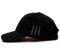 Bolt Sport Strapback Hat | Black/Red