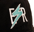 Bolt Sport Strapback Hat | Black/Teal