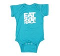 Infant One Piece Logo | Teal