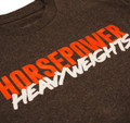 Horsepower Heavyweights T-Shirt | Charcoal