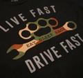 Drive Fast T-Shirt | Black/Camo
