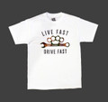 Drive Fast T-Shirt | White/Camo