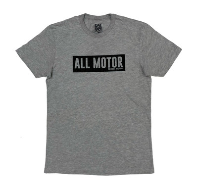 All Motor 7 Lightweight T-Shirt | Grey