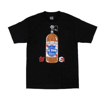 40 Shot T-Shirt | Black/Blue