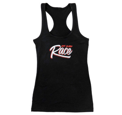 Ladies Graffiti Tank Top | Black