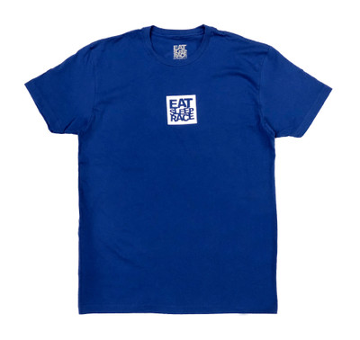 Logo Square T-Shirt | Blue