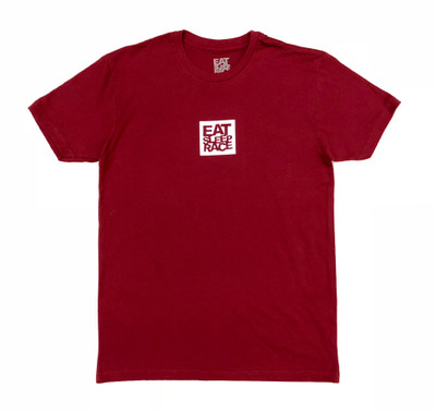 Logo Square Lightweight T-Shirt | Red