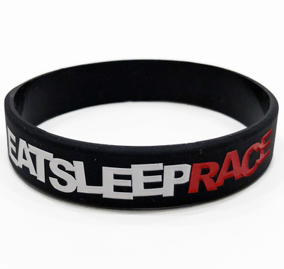 Logo Rubber Wristband | Black