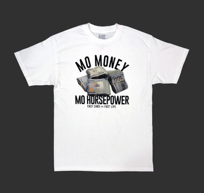 Mo Money T-Shirt | White
