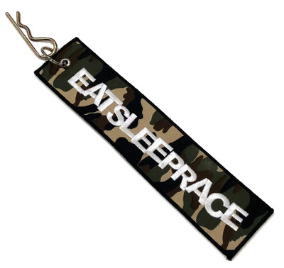 Embroidered Parachute Tag   Camo