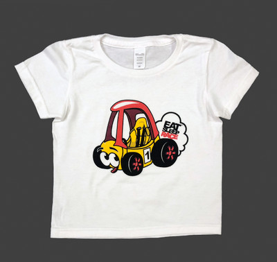 Kids Buggy T-Shirt | White