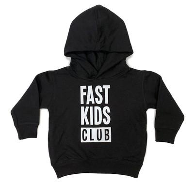 Toddler Fast Kids Club Pull Over Hoodie | Black