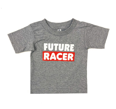 Fast Kids Club Future Racer 2 T-Shirt | Grey