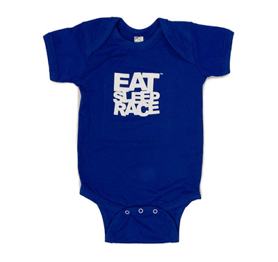 Infant One Piece Logo | Royal Blue