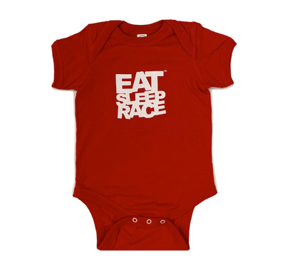 Infant One Piece Logo | Red
