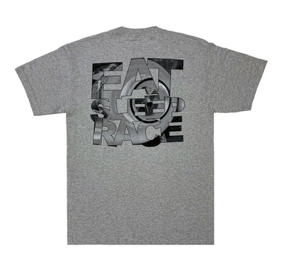 Turbo Speedlines 2 T-Shirt | Grey/Red