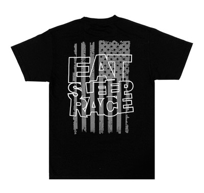ESR Spark Flag Lightweight T-Shirt | Black