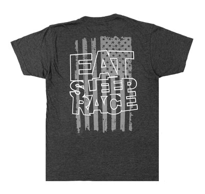 ESR Spark Flag Lightweight T-Shirt | Charcoal