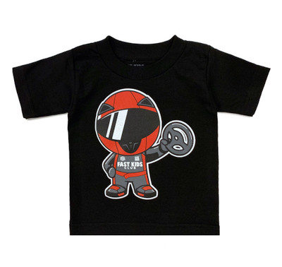 Fast Kids Club Racer T-Shirt | Black