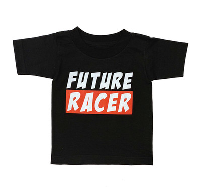 Fast Kids Club Future Racer 3 T-Shirt | Black